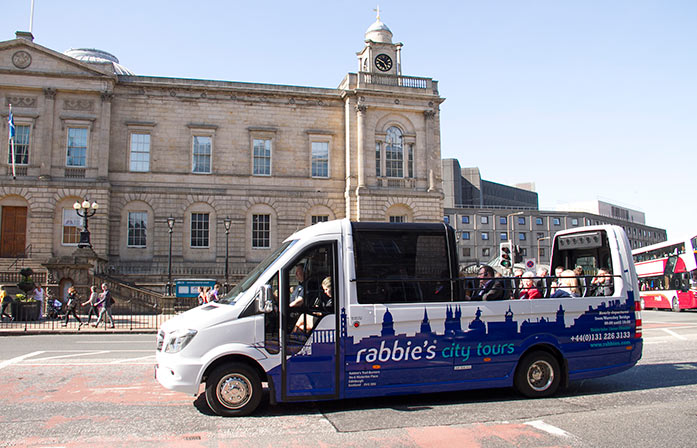 Edinburgh City Tours   Rabbie's Tours