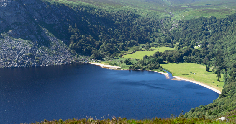 Lough Tay Guinness Lake