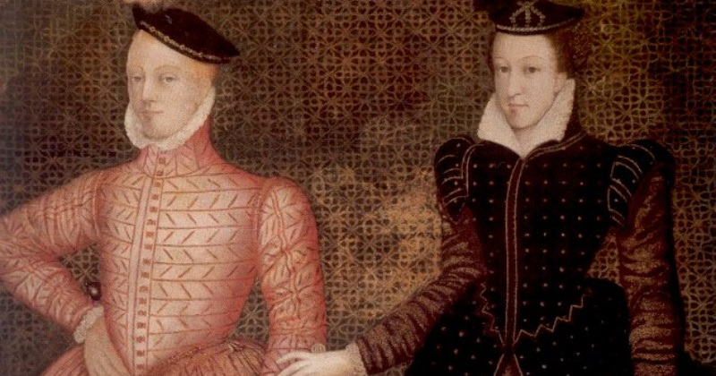 Who was Mary Queen of Scots' second husband?