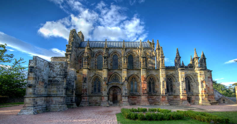 Rosslyn chapel burried