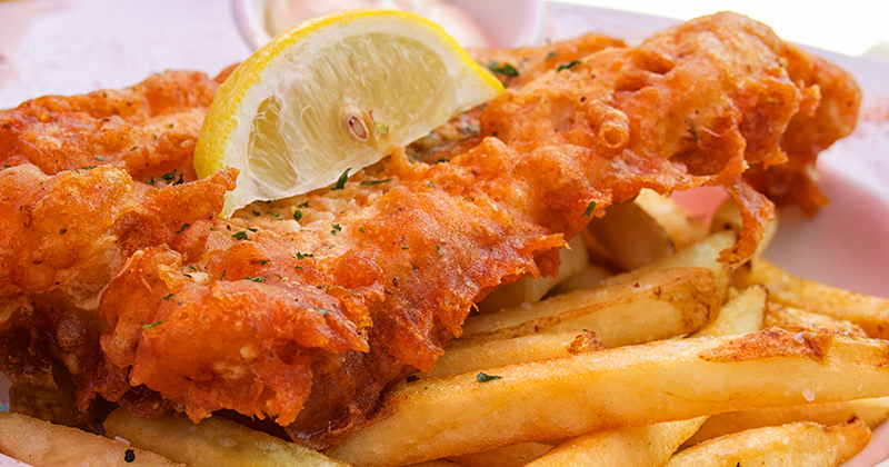 Is Fish Supper a typical Scottish food?