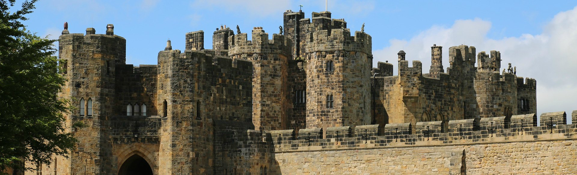 Magical Alnwick Castle
