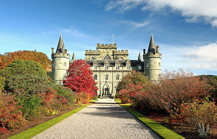 Inveraray Castle & Duke of Argyll