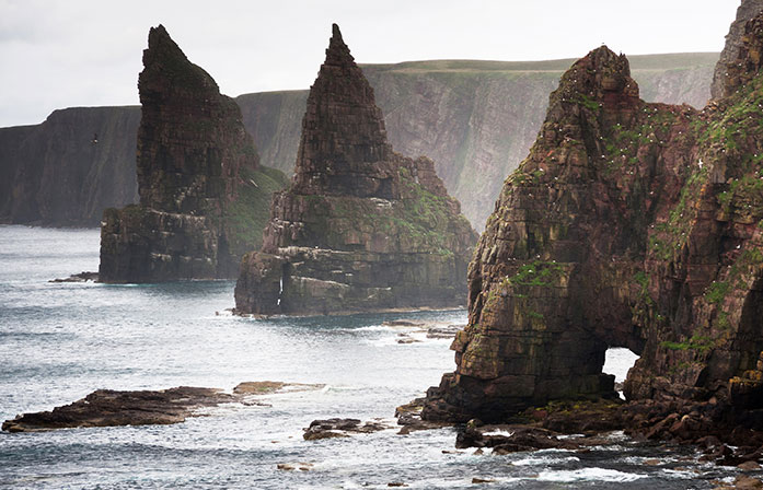 Orkney coast from Inverness