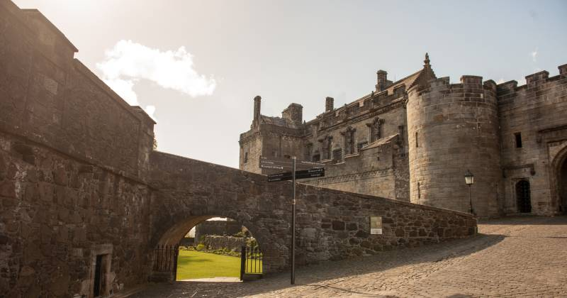 Where did Mary Queen of Scots live?