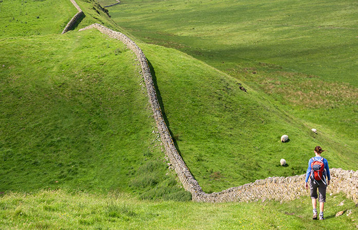 Hadrian's Wall tour borders
