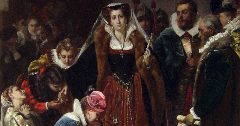 Why was Mary Queen of Scots executed?