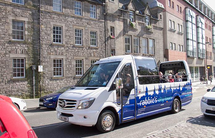 Rabbies Trail Burners Edinburgh City Tours