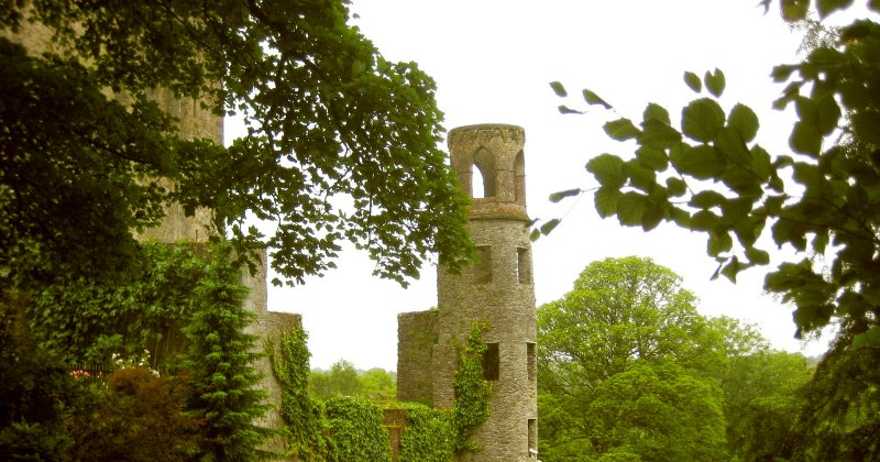 blarney castle and the stone