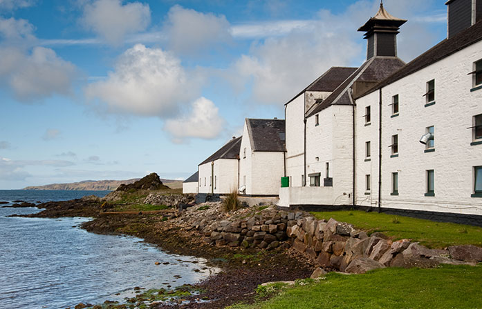 Laphroaig Distillery Islay