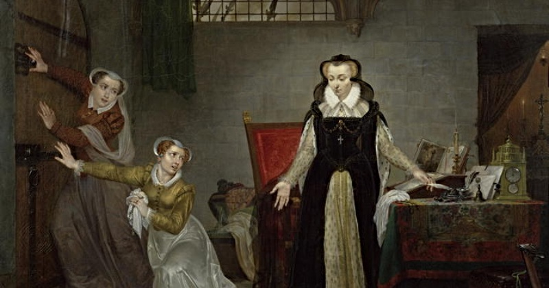 Why was Mary Queen of Scots imprisoned?