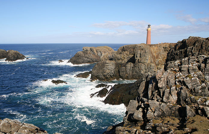 Lighthouse coastal trips scotland