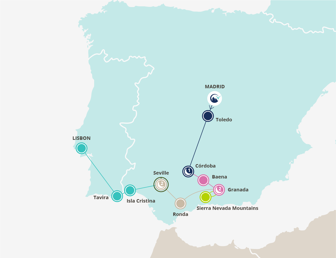 South of Spain & Treasures of Andalucía - 6 day tour