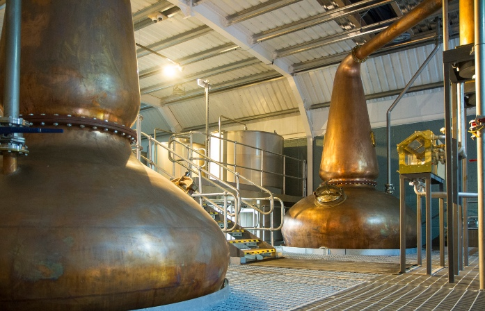 Kingsbarns Distillery stills