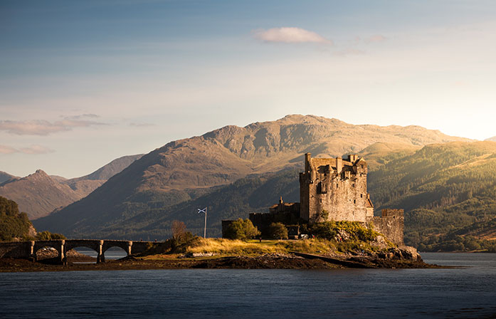 Eilean Donan Castle trips from edinburgh