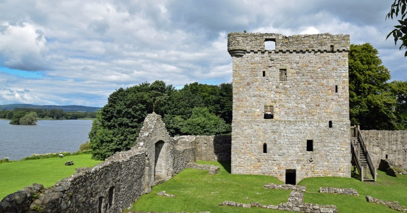 Where was Mary, Queen of Scots imprisoned?