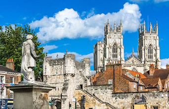 York, die Dales, Lake District & Hadrian's Wall  - 5 Tage Tour